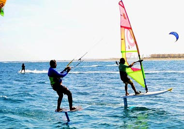 Foiling in Marsa Alam - Procenter Tommy Friedl