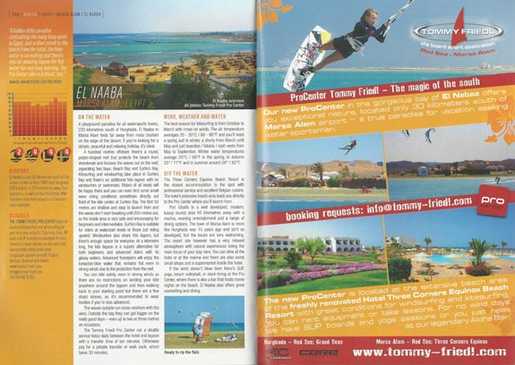Kiteworld Travelguide 2017 - ProCenter Tommy Friedl Marsa Alam