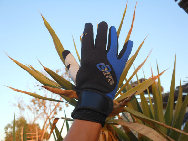 Surf gloves whole fingers