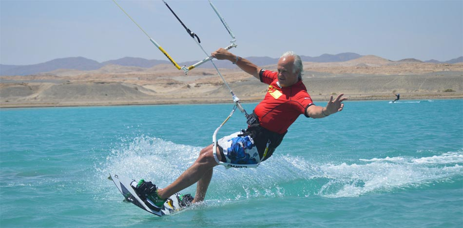 Procenter Tommy Friedl - Kitesurfing