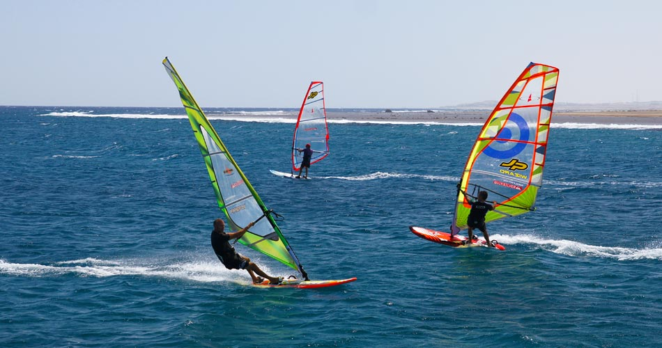 Procenter Tommy Friedl - Windsurfing El Naaba