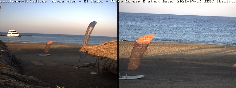 Webcam ProCenter Tommy Friedl - Beach - Hurghada - Jasmin Village